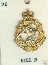 Cap Badge Brass Royal Army Dental  Corps ER