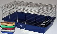 100 cm Hasenkäfig Nagerkäfig Kaninchenkäfig Käfig Stall Meerschweinchen 5 Farben