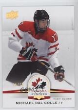 2014 Upper Deck Team Canada Juniors High Gloss #2 Michael Dal Colle Hockey Card