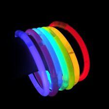 Pulseras Luminosas Fluorescentes Neon Fluor Luminiscentes (100 uds)