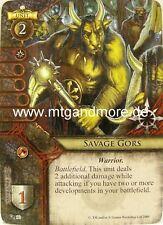 Warhammer Invasion - 2x Savage Gors  #090