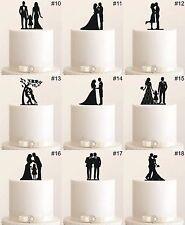 Tortenfigur Cake Topper Wedding Hochzeit Etagere Acryl Tortenstecker Figur NEU