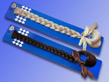 Pelo Sintético Coleta para Carnaval Oktoberfest, RUBIAS o marrón pelo