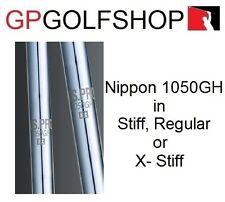 Nippon 1050 Stiff or Regular Individual Iron Shafts for Repair Taper or Parallel
