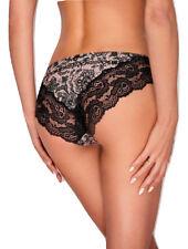 Culotte sexy femme slip dentelle noire lingerie EWANA 53 36 38 40 42 44 46
