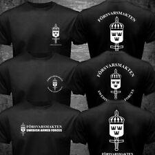 New Vikings Swedish Sweden Armed Defense Forces Försvarsmakten T-shirt