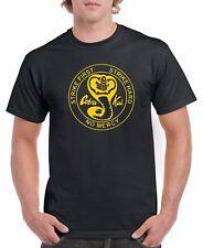 Karate Kid Cobra Kai Logo T-shirt  Assorted Colors Kids S6-8-XL18-20 Adult S-5XL
