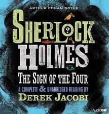THE SIGN OF THE FOUR - ARTHUR CONAN DOYLE  SHERLOCK HOLMES 4 CD AUDIO BOOK - NEW
