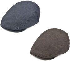 e5b5f40576e Mens Flat Cap Peaked Outdoor Racing Hat Barleycorn Tweed Hat Newsboy Cap