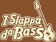 MI Slappa da BASS T-shirt, Retrò Reggae Bass-Tutte le Taglie