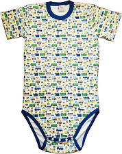 Baby Pants Adult Size Diaper Shirt/BodyShirt Snap Crotch - Cars Nursery Print