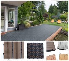 quadratische terrasse holzfliesen g nstig kaufen ebay. Black Bedroom Furniture Sets. Home Design Ideas