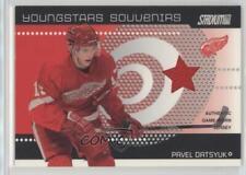 2002-03 Topps Stadium Club Youngstars Souvenirs #YSS-2 Pavel Datsyuk Hockey Card