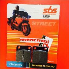 Yamaha YFM 350 Bruin 2x4 4x4 04 > ON Front Ceramic Brake Pads OE QUALITY 536HF