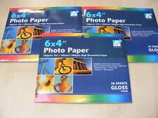 108 FOGLI DI 6 x 4 ALTO RISOLUZIONE LUDICO CARTA FOTOGRAFICA
