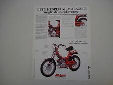 advertising Pubblicità 1979 MALAGUTI FIFTY HF SPECIAL