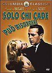 Dvd **SOLO CHI CADE PUO' RISORGERE** con Humphrey Bogart nuovo 1947