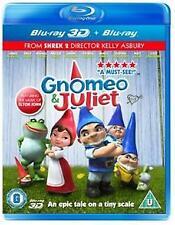 GNOMEO AND JULIET 3D BLURAY+ 2D BLURAY *BRAND NEW REG B