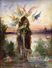 The Sacred Elephant P  ri by Gustave Moreau Premium Giclee Print