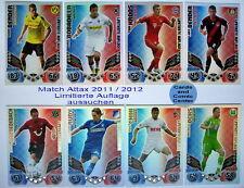 Match Attax 2011 2012 11 12 Limitierte Auflage / Limited Edition zum aussuchen