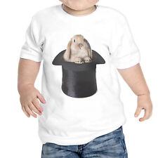T-Shirt Neonato Coniglio Cappello Magico