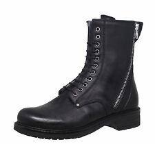 Momino 3550M Leder Boots Stiefeletten Stiefel Lammfell Winter Gr 34-41 Neu