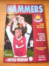 18/05/1999 FA Premier Academy U19 Play-Off Final: West Ham United Youth U19 v Sh