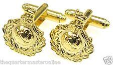 Royal Marines Cufflinks (Cap Badge Style)