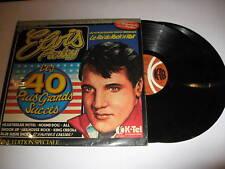 ELVIS PRESLEY - Les 40 Plus Grands Succes - Rare 76 LP