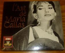 Art of Maria Callas EMI W.GERMANY 4CDs BOX 1ST ED