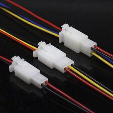 5x 2/3/4-polig KFZ Stecker Superseal Steckverbindung Auto Boot Kabel Kabelschuhe