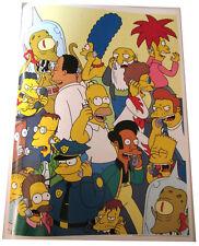 "Simpsons Tv Show Mini Poster 2007 14""X10 1/2"" Character On Phones Bart Apu Homer"