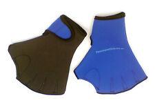 Aqua water aerobics GLOVES swimming training neoprene swim aquatic paddle 6033