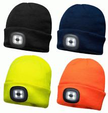 Portwest B029 USB Wiederaufladbare Led Scheinwerfer Mütze Verschiedene Farben