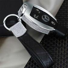 Mercedes-Benz GLA 200E C Class GLC 260 C200L diamond key case+leather chain