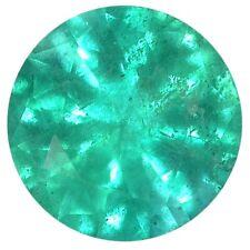Natural Fine Medium Green Emerald - Round - Brazil - AA+ Grade