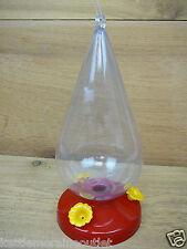 Perky Pet Dew Drop Plastic Hummingbird Feeder 32oz 3 Ports #273
