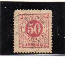Suecia Valor del año 1886-99 (BB-614)