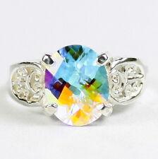 MERCURY MIST TOPAZ Sterling Silver Ladies Ring - Handmade • SR369