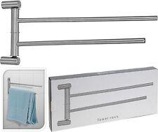 Stainless Steel Bathroom Towel Rail Toilet Brush Towel Ring Toilet Roll Holder