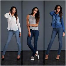 Womens Ladies Skinny Jeans with Stretch