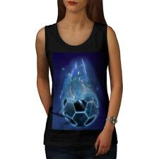 Diablo Sport Fútbol Mujeres Camiseta sin mangas Nuevo | wellcoda