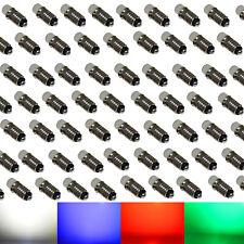 100x 12V-19V LED MS4 / E5,5 für Märklin Glühlampen Modellbau kaltweiß rot grün