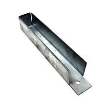 Clip Pannello di ghiaia 25mm x 150mm x 30mm SCHERMA pannelli STAFFA RECINZIONE GIARDINO