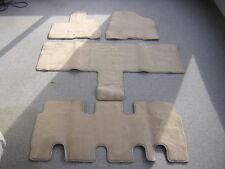 Hyundai Entourage beige factory carpet floor mats