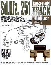 AFV Club 1/35 AF35081 WORKABLE Track Link for Sd.Kfz.251 Sd.Kfz.11 Latest Model