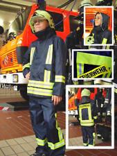 Kinderfeuerwehranzug Feuerwehrkostüm Kinderfeuerwehrkostüm in original Optik