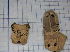 lot 2 socom marsoc devgru coyote small pouch pouch 4 x 3 x 2 US military GP USMC