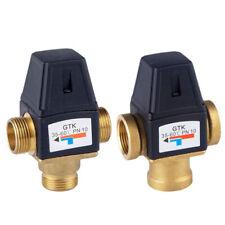 Auto Brass Thermostatic Mixer Valve Water Heater Mixing Valve Faucet Valve