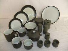 C4 Pottery Denby Chevron - plates, bowls, jugs, pots, various sizes - 1C4E